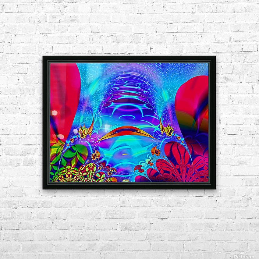 Sea_Bottom_3 HD Sublimation Metal print with Decorating Float Frame (BOX)