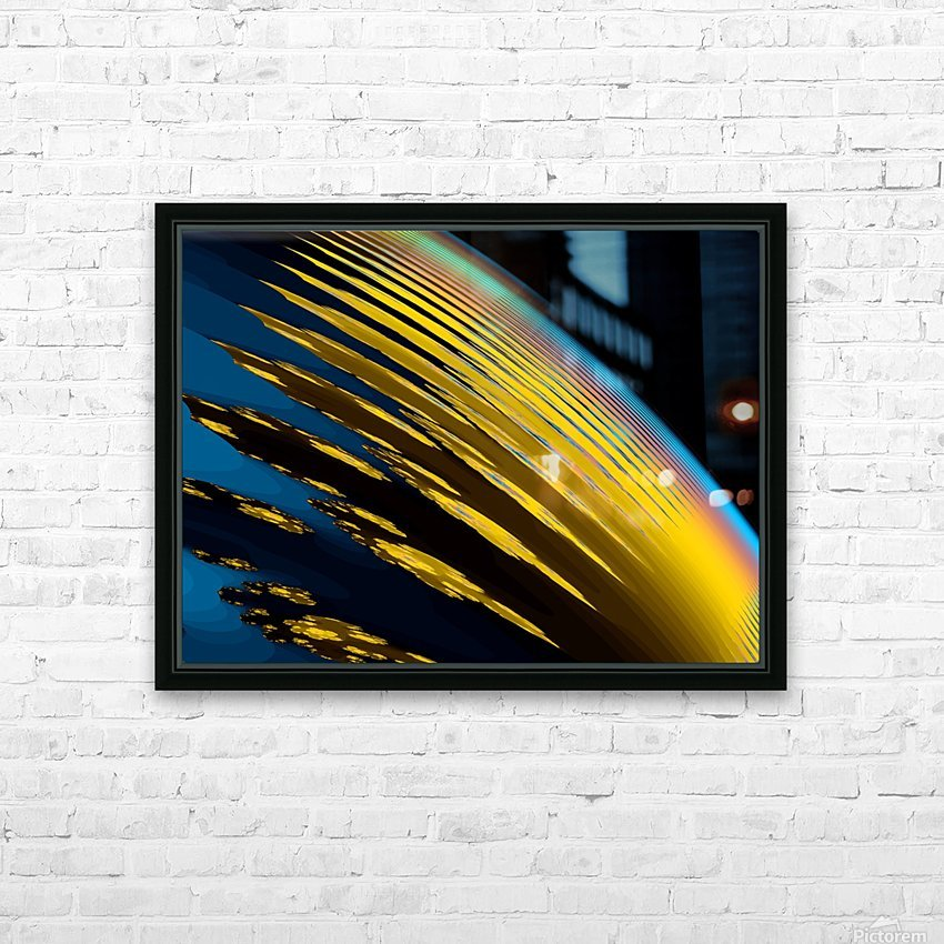 Weather_Report_3 HD Sublimation Metal print with Decorating Float Frame (BOX)
