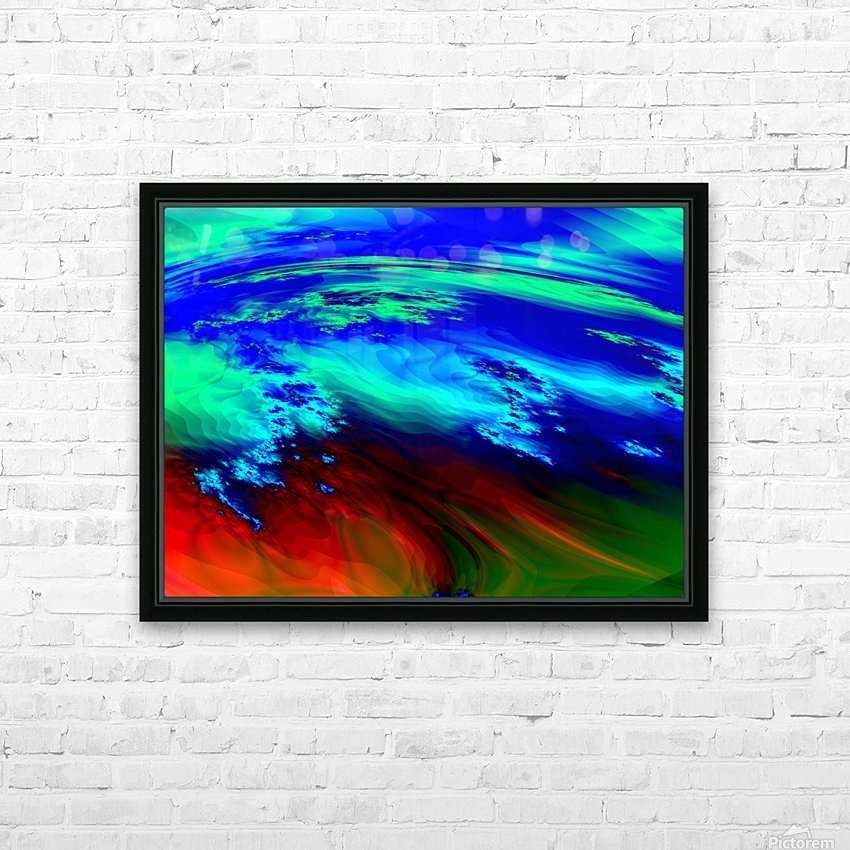 Weather_Report_27 HD Sublimation Metal print with Decorating Float Frame (BOX)