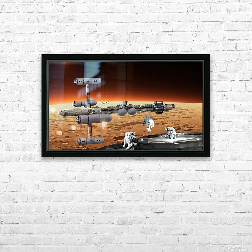 Marship OUTRIG 3 HD Sublimation Metal print with Decorating Float Frame (BOX)