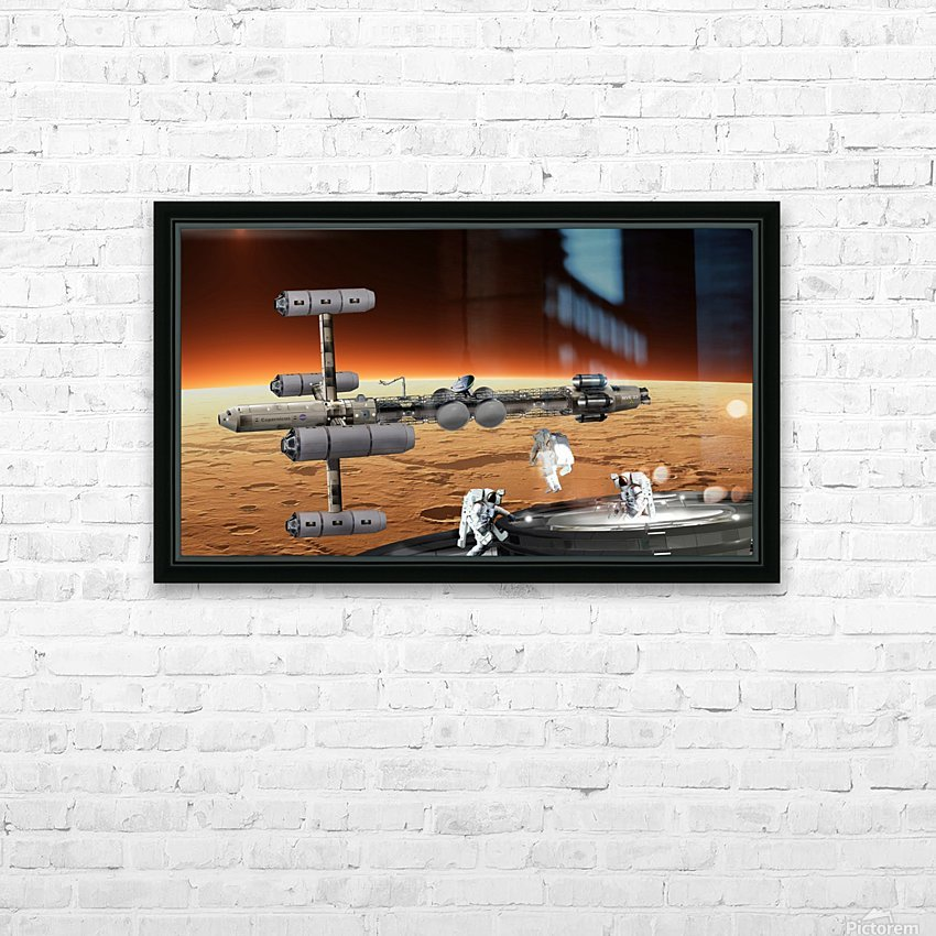 Copernicus at Mars HD Sublimation Metal print with Decorating Float Frame (BOX)