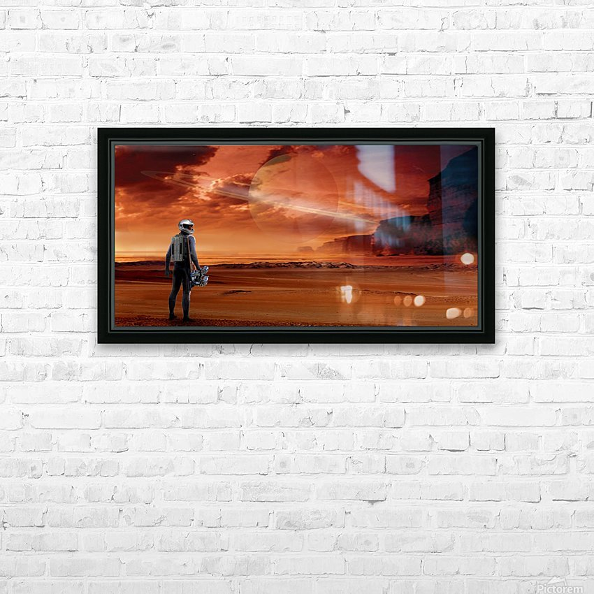 TItan Explorer HD Sublimation Metal print with Decorating Float Frame (BOX)