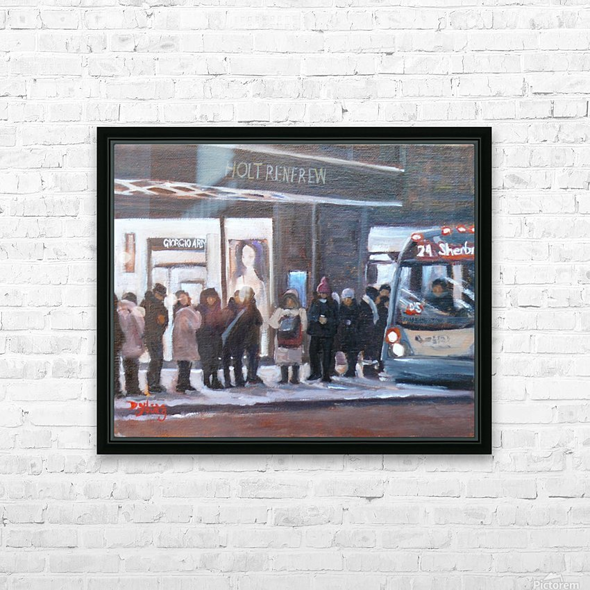 The 24 HD Sublimation Metal print with Decorating Float Frame (BOX)