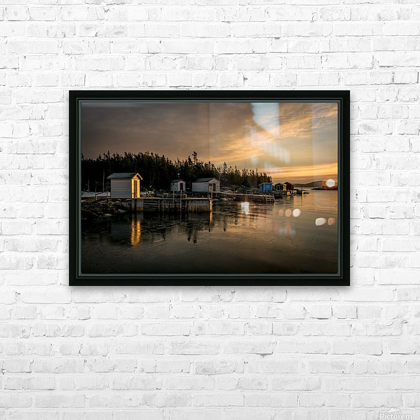 Little Burnt Bay HD Sublimation Metal print with Decorating Float Frame (BOX)