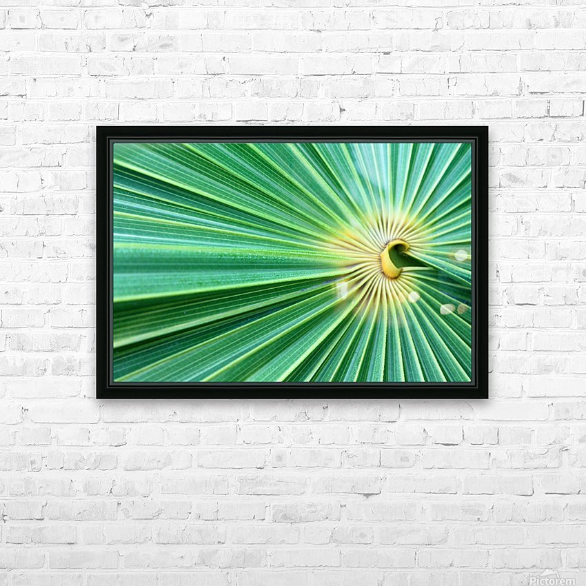 Spreading the Green HD Sublimation Metal print with Decorating Float Frame (BOX)