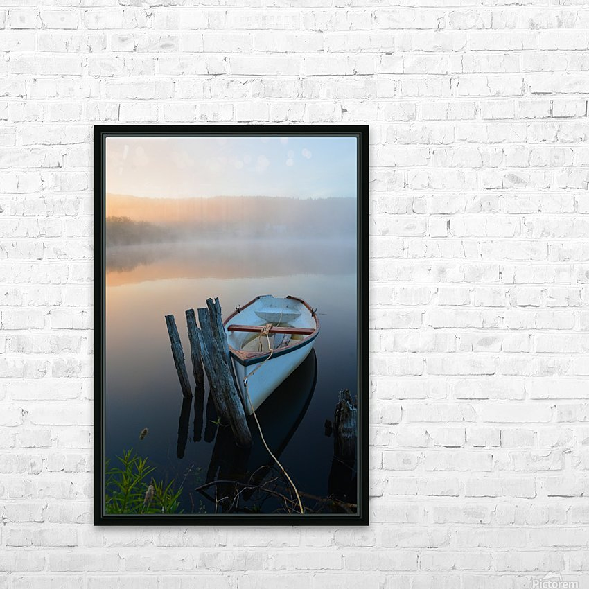 Morning Tranquility HD Sublimation Metal print with Decorating Float Frame (BOX)
