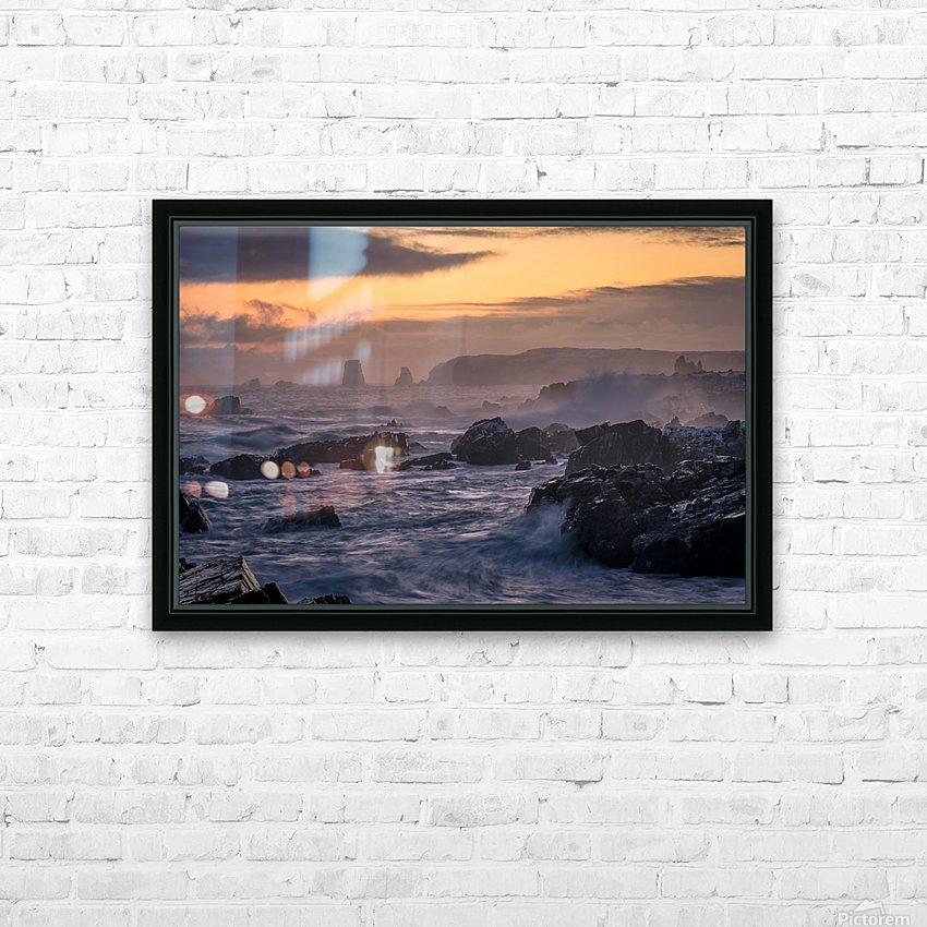 Unforgiving Seas HD Sublimation Metal print with Decorating Float Frame (BOX)