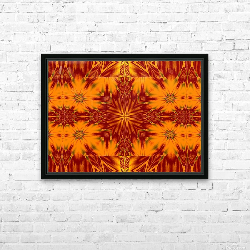 Gold Star of the Meadow HD Sublimation Metal print with Decorating Float Frame (BOX)