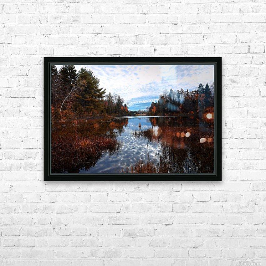 Reflet HD sublimation métal imprimé avec décoration flotteur cadre (boîte)