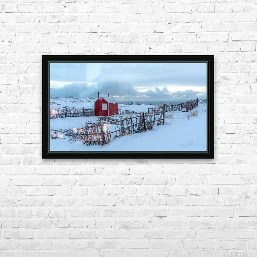 Coastal Beauty HD Sublimation Metal print with Decorating Float Frame (BOX)