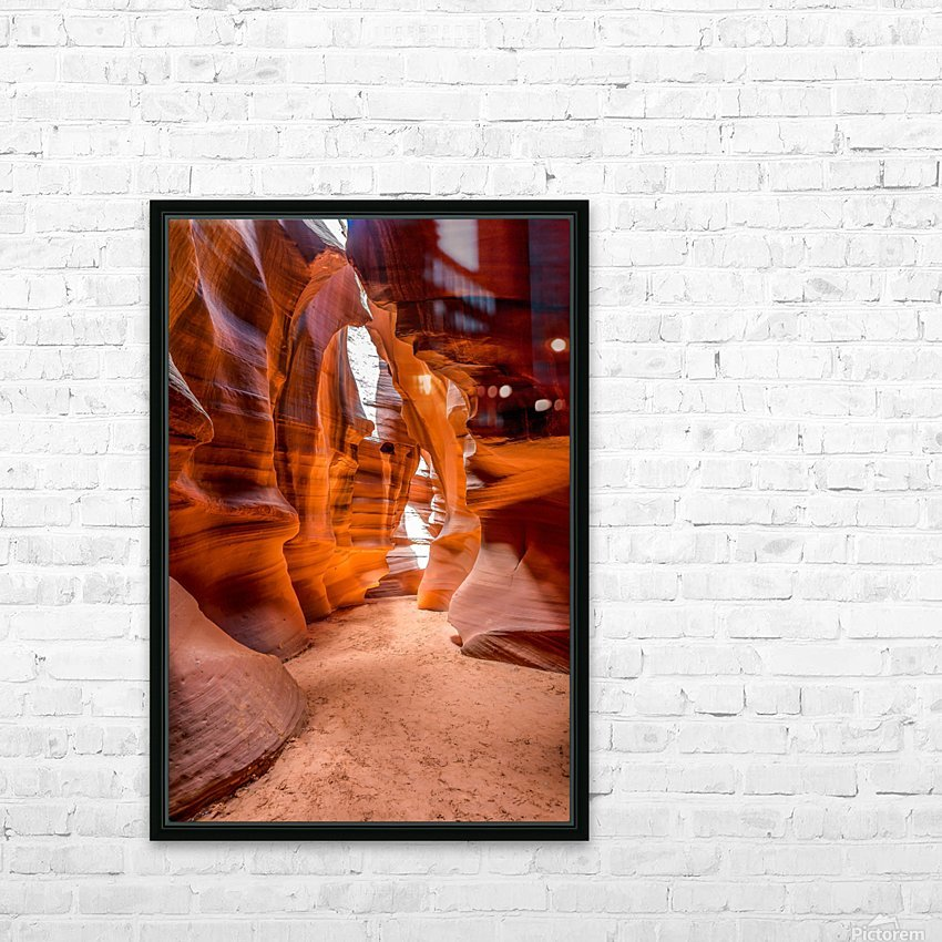 Upper Antelope Canyon 10 HD Sublimation Metal print with Decorating Float Frame (BOX)