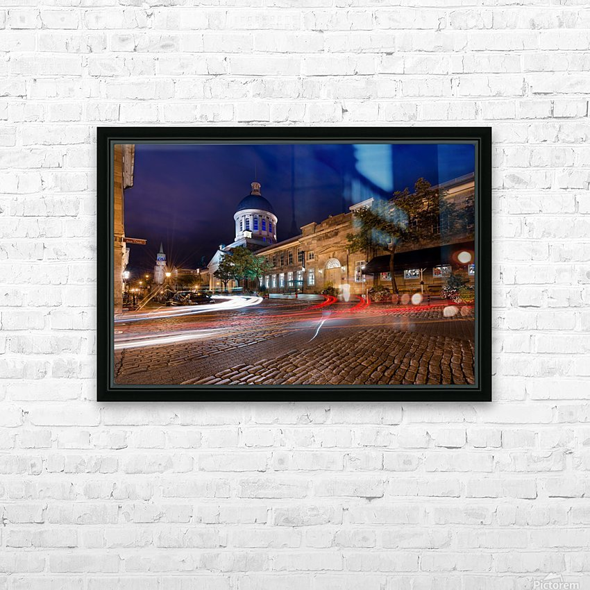 _TEL5319 Edit HD Sublimation Metal print with Decorating Float Frame (BOX)