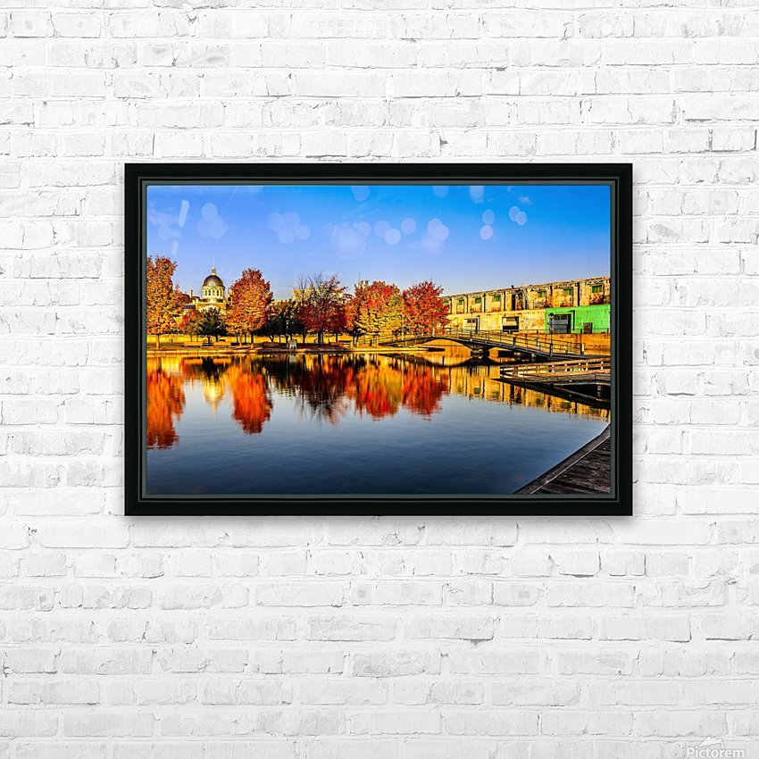 _TEL6424 Edit HD Sublimation Metal print with Decorating Float Frame (BOX)