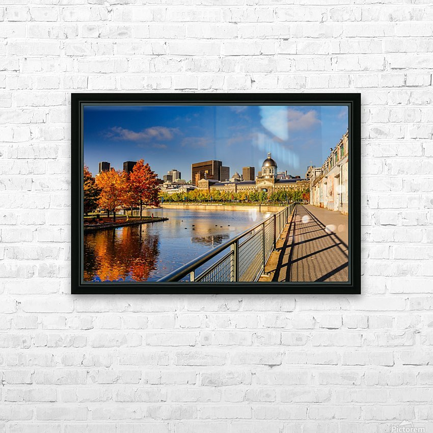 _TEL6493 HD Sublimation Metal print with Decorating Float Frame (BOX)
