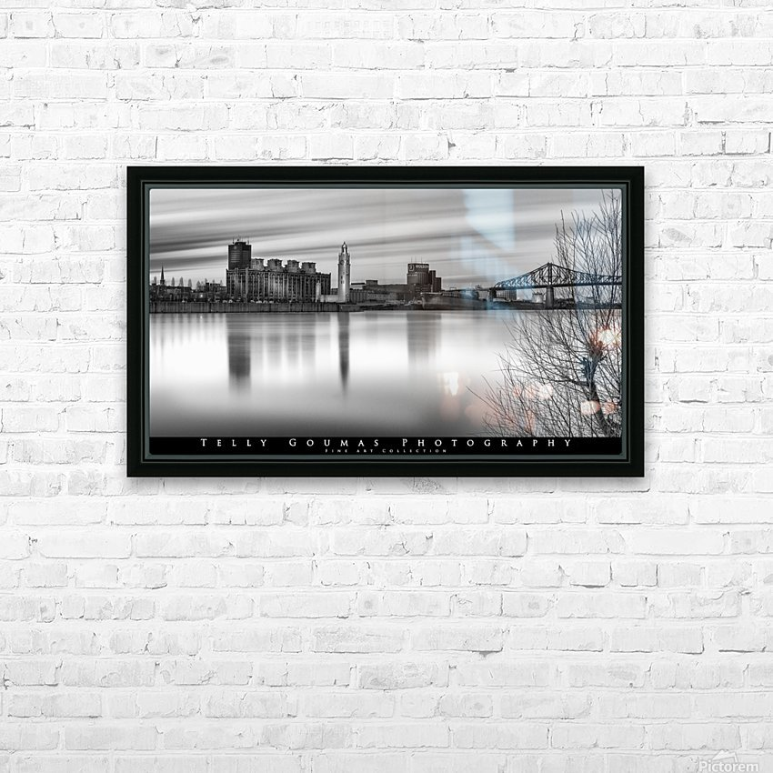 Long Exposure MTL HD Sublimation Metal print with Decorating Float Frame (BOX)