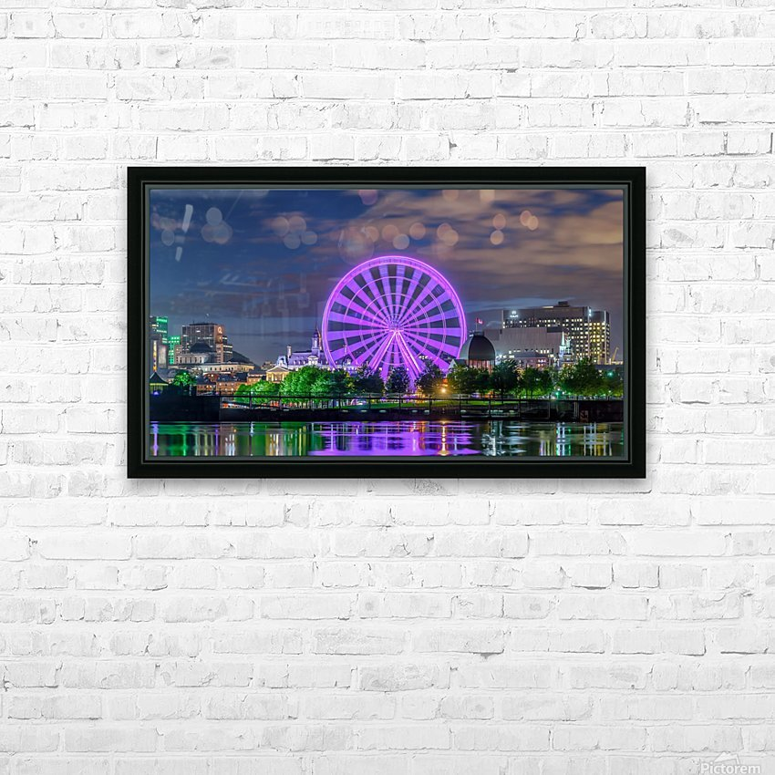 _TEL0646 HDR 1 2 HD Sublimation Metal print with Decorating Float Frame (BOX)