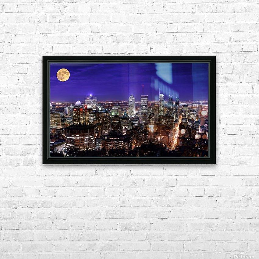 _TEL4538 Edit Edit HD Sublimation Metal print with Decorating Float Frame (BOX)