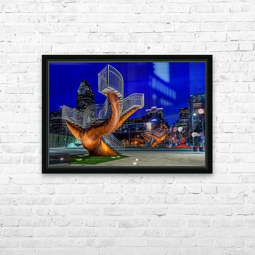 _TEL5194 HDR 1 2 HD Sublimation Metal print with Decorating Float Frame (BOX)