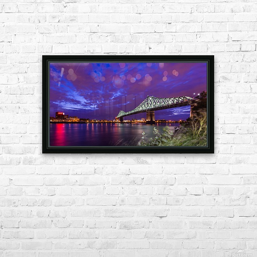 _TEL8514 HD Sublimation Metal print with Decorating Float Frame (BOX)
