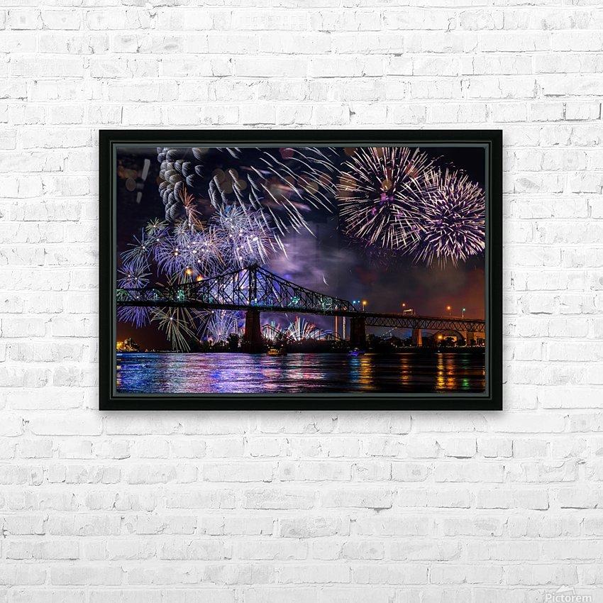 _TEL8724 Edit Edit HD Sublimation Metal print with Decorating Float Frame (BOX)