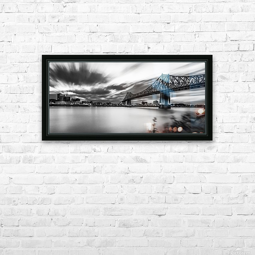 _TEL8483 Edit HD Sublimation Metal print with Decorating Float Frame (BOX)