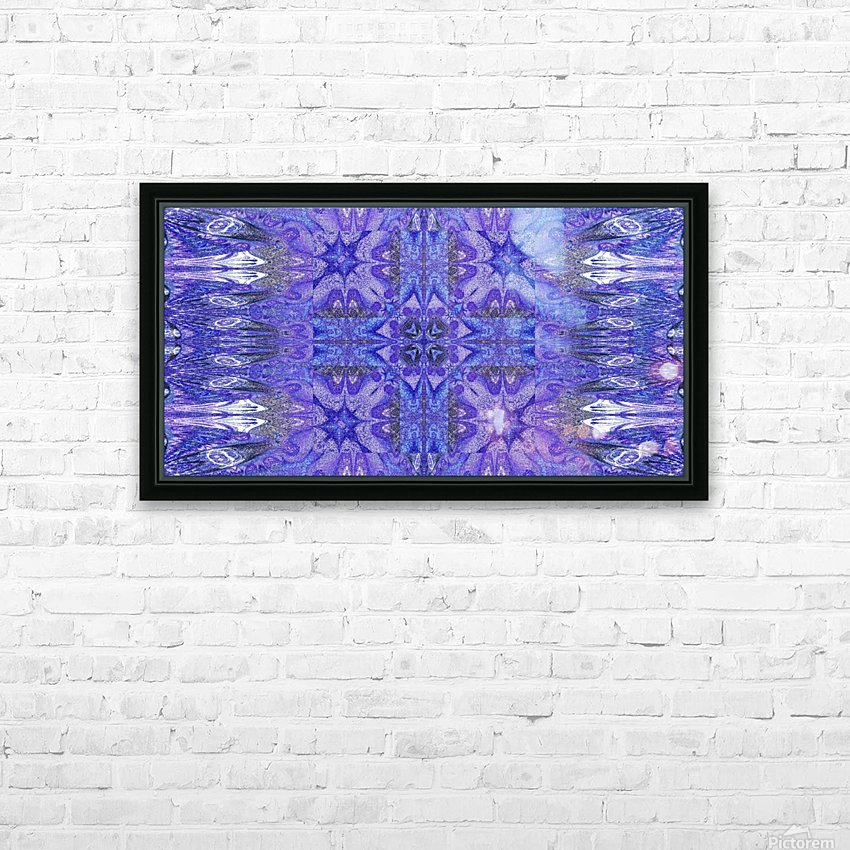 Stone Light Flower 10 HD Sublimation Metal print with Decorating Float Frame (BOX)