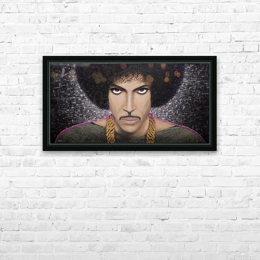 Purple Transcendence HD Sublimation Metal print with Decorating Float Frame (BOX)