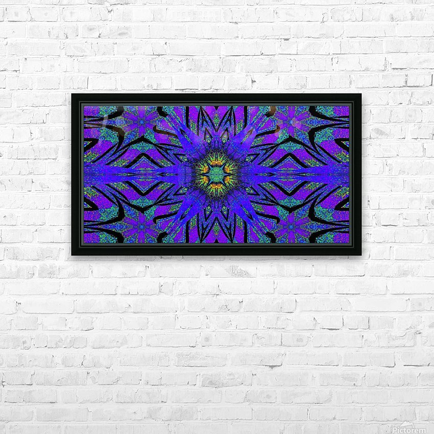 Totem Wildflower 7 HD Sublimation Metal print with Decorating Float Frame (BOX)