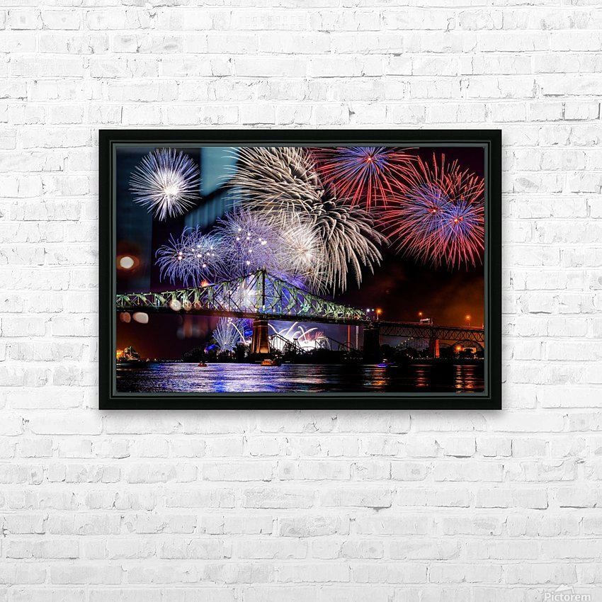 _TEL8731 Edit HD Sublimation Metal print with Decorating Float Frame (BOX)