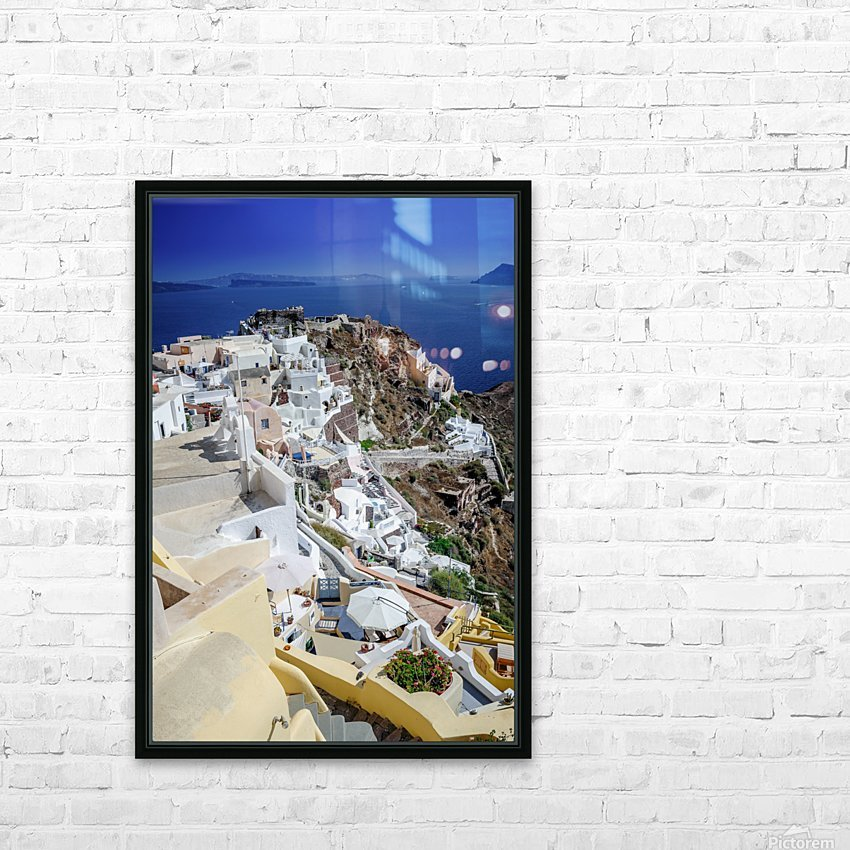 _TEL4087 HD Sublimation Metal print with Decorating Float Frame (BOX)