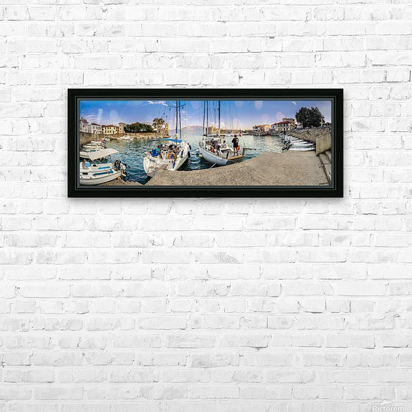 _TEL3384 Edit HD Sublimation Metal print with Decorating Float Frame (BOX)