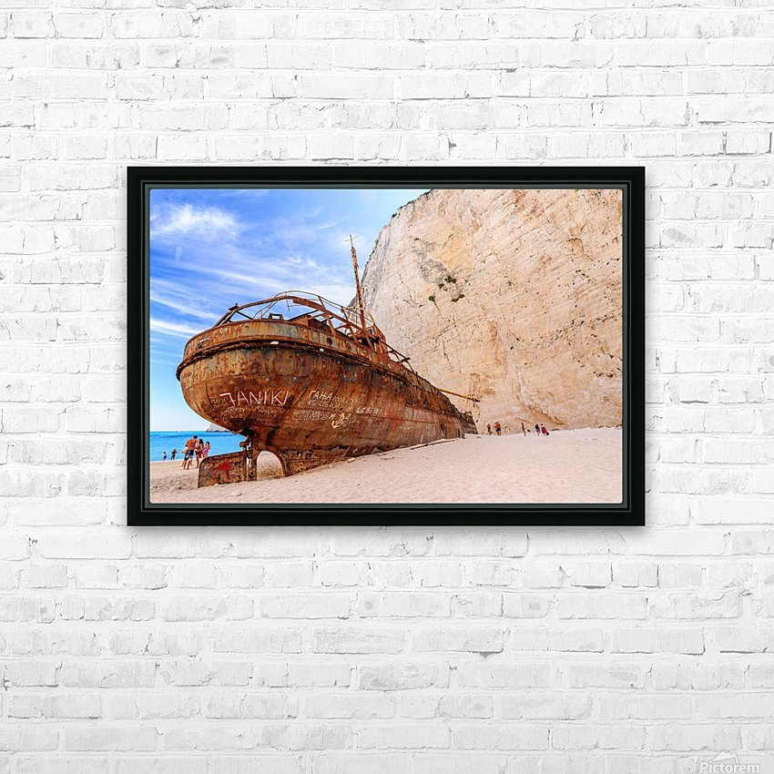_TEL3227 HD Sublimation Metal print with Decorating Float Frame (BOX)