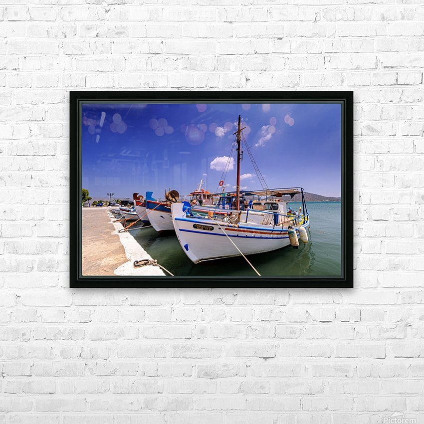 _TEL3843 HD Sublimation Metal print with Decorating Float Frame (BOX)