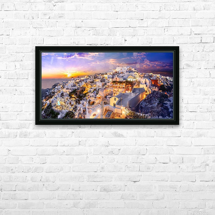 _TEL4301 HD Sublimation Metal print with Decorating Float Frame (BOX)