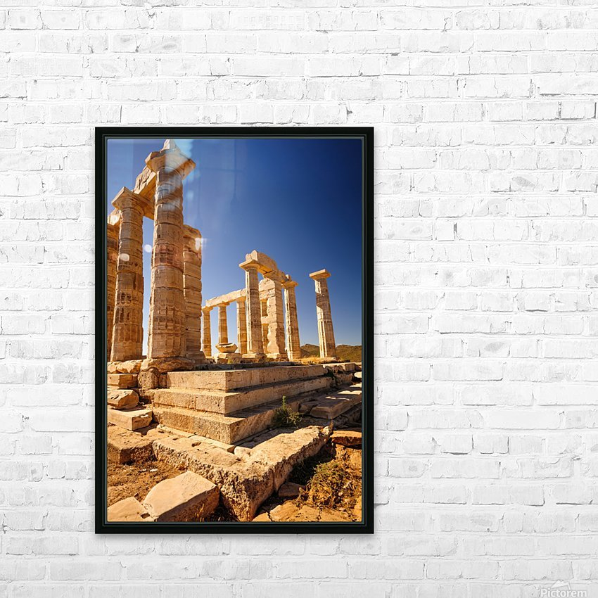 _TEL2951 HD Sublimation Metal print with Decorating Float Frame (BOX)