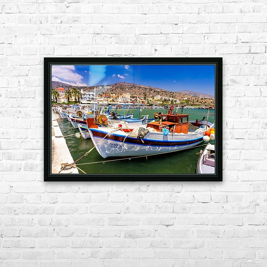 _TEL3860 HD Sublimation Metal print with Decorating Float Frame (BOX)