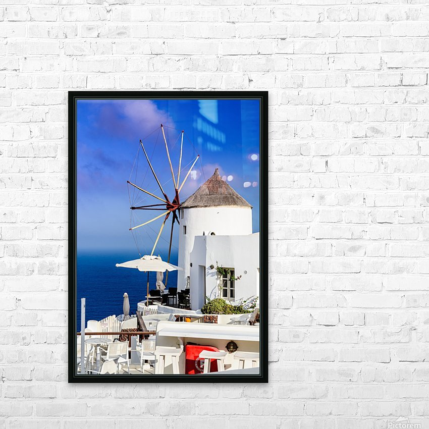 _TEL4717 HD Sublimation Metal print with Decorating Float Frame (BOX)