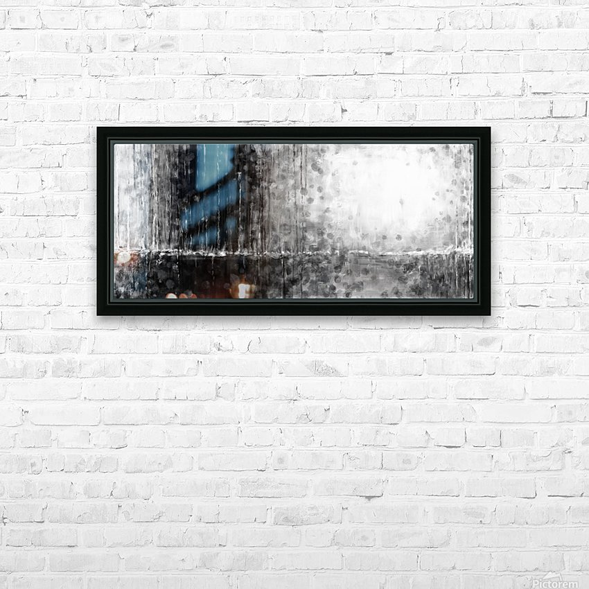 Abstract 1802 HD Sublimation Metal print with Decorating Float Frame (BOX)