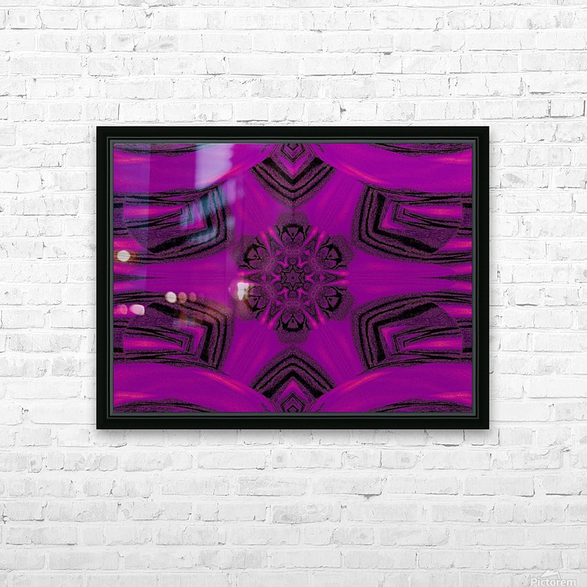 Purple Desert Song 37 HD Sublimation Metal print with Decorating Float Frame (BOX)
