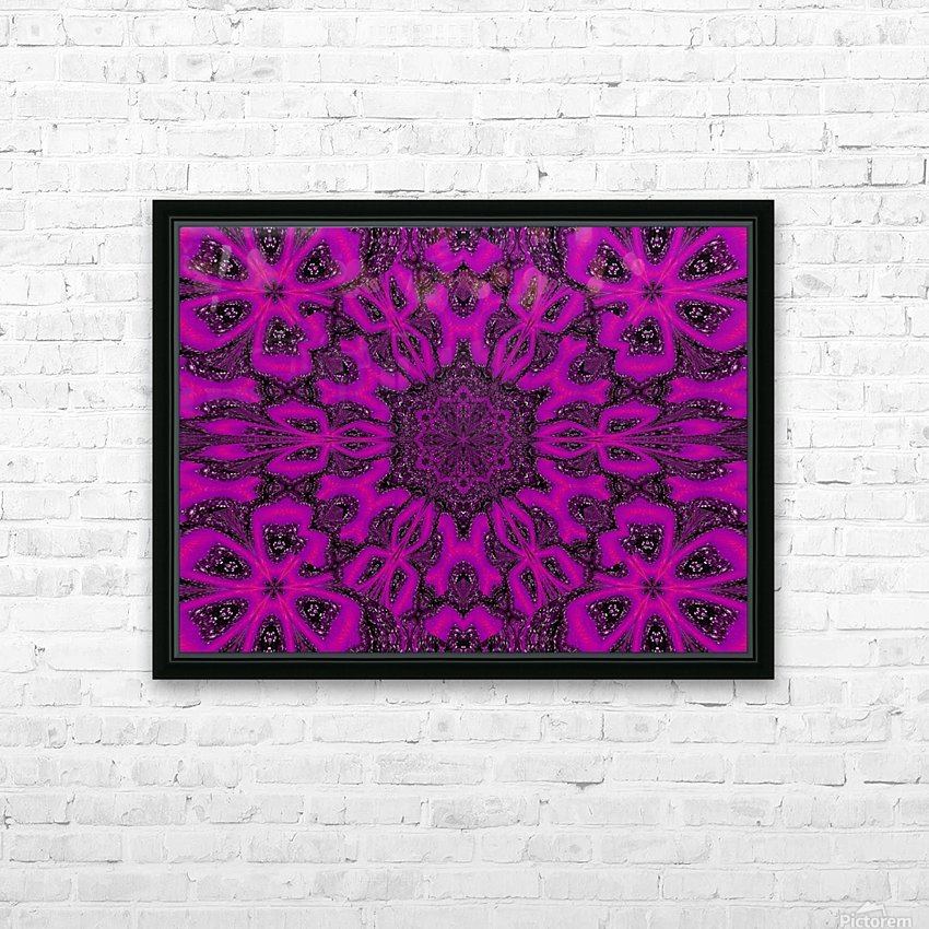 Purple Desert Song 38 HD Sublimation Metal print with Decorating Float Frame (BOX)