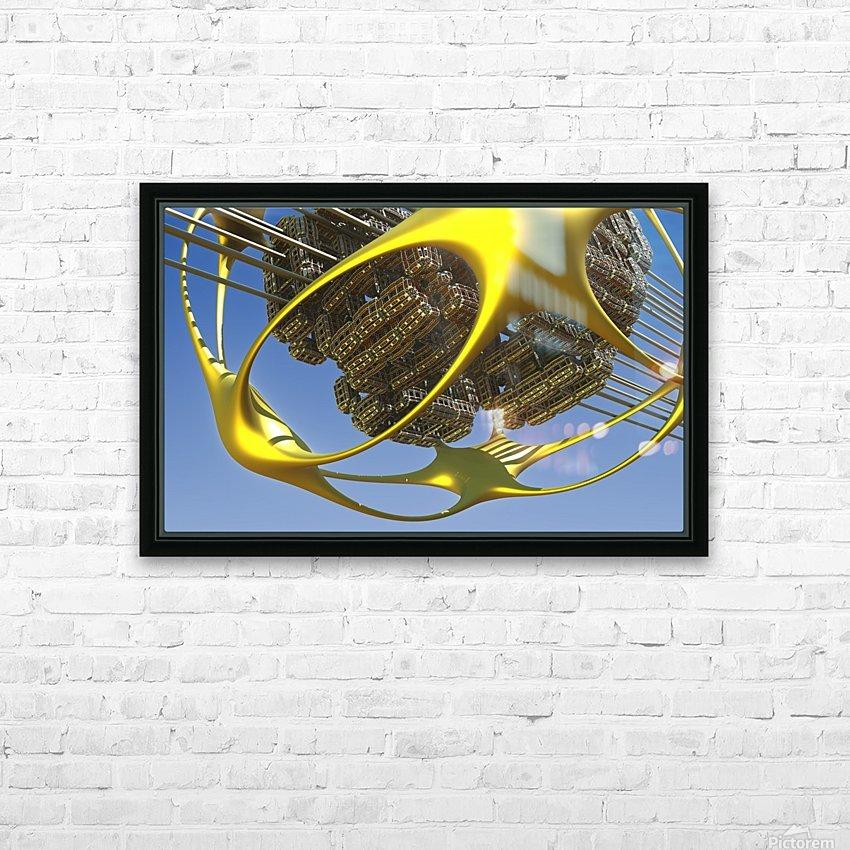Vogazim by Jean-Francois Dupuis  HD Sublimation Metal print with Decorating Float Frame (BOX)