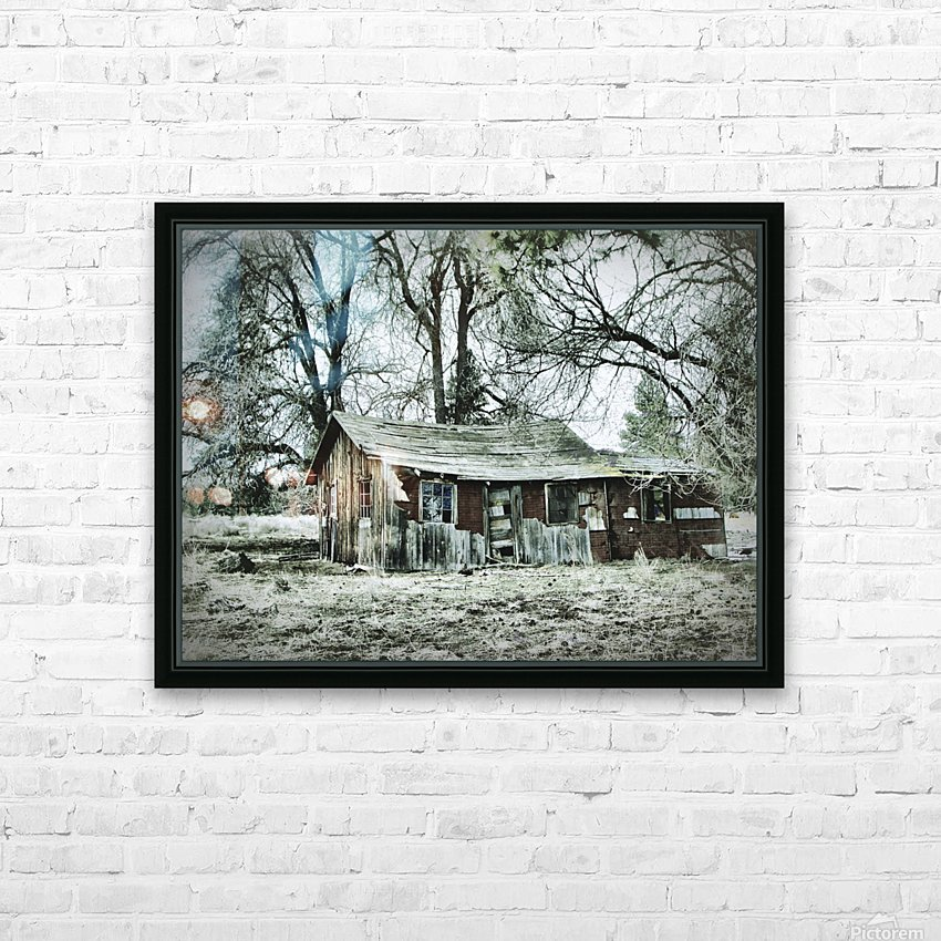 Abandoned Homestead HD Sublimation Metal print with Decorating Float Frame (BOX)