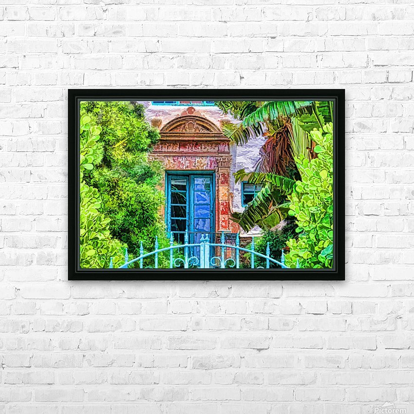 Beyond The Gate  HD Sublimation Metal print with Decorating Float Frame (BOX)