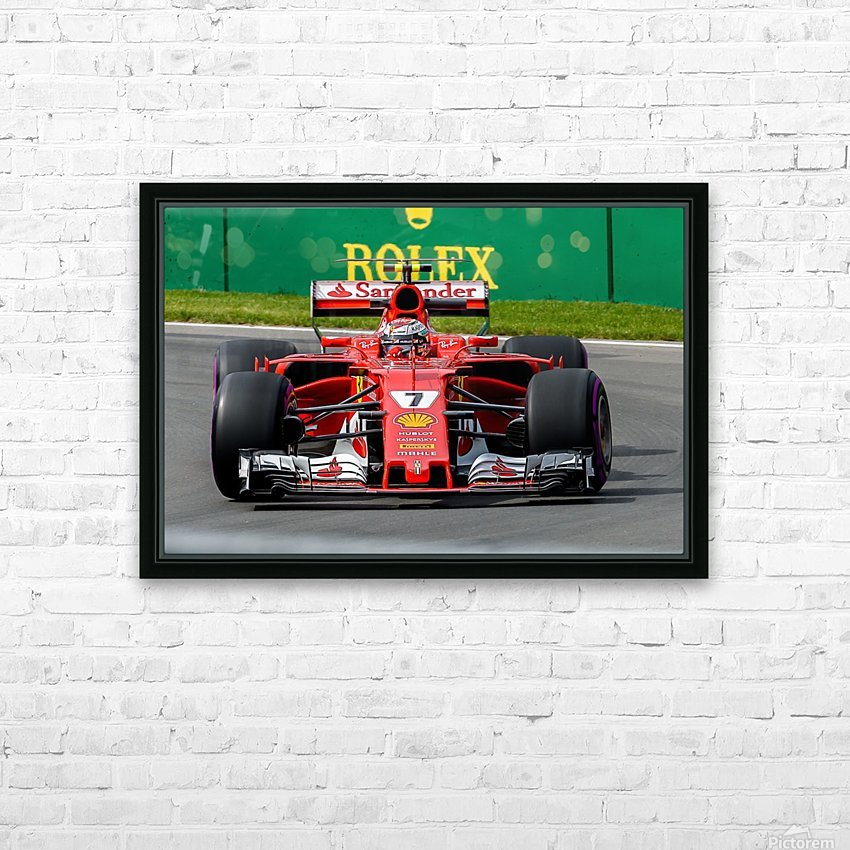 _TEL5770 Edit HD Sublimation Metal print with Decorating Float Frame (BOX)