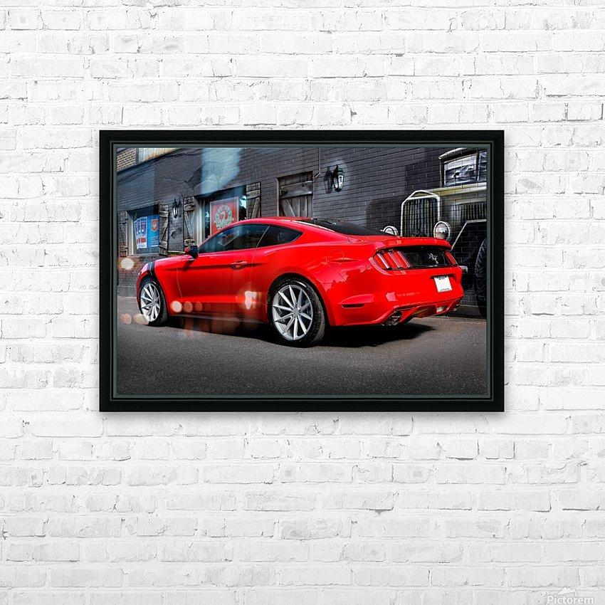 _TEL4935 Edit Edit HD Sublimation Metal print with Decorating Float Frame (BOX)