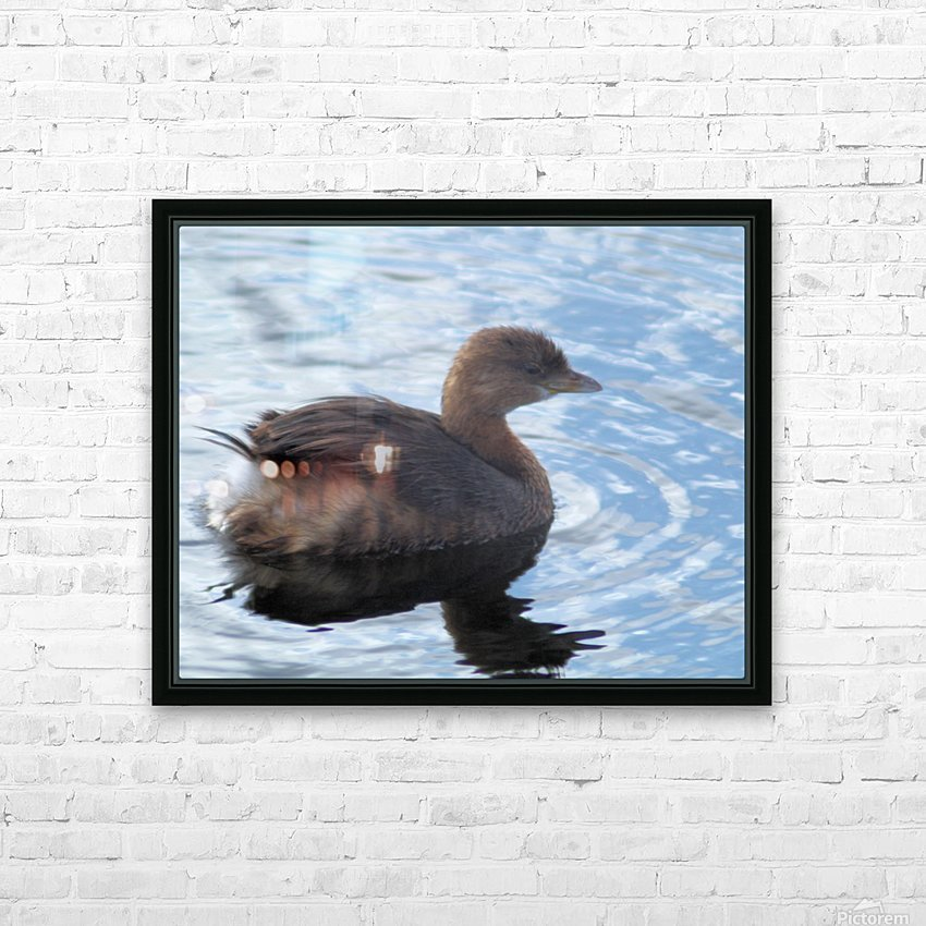 smile HD Sublimation Metal print with Decorating Float Frame (BOX)