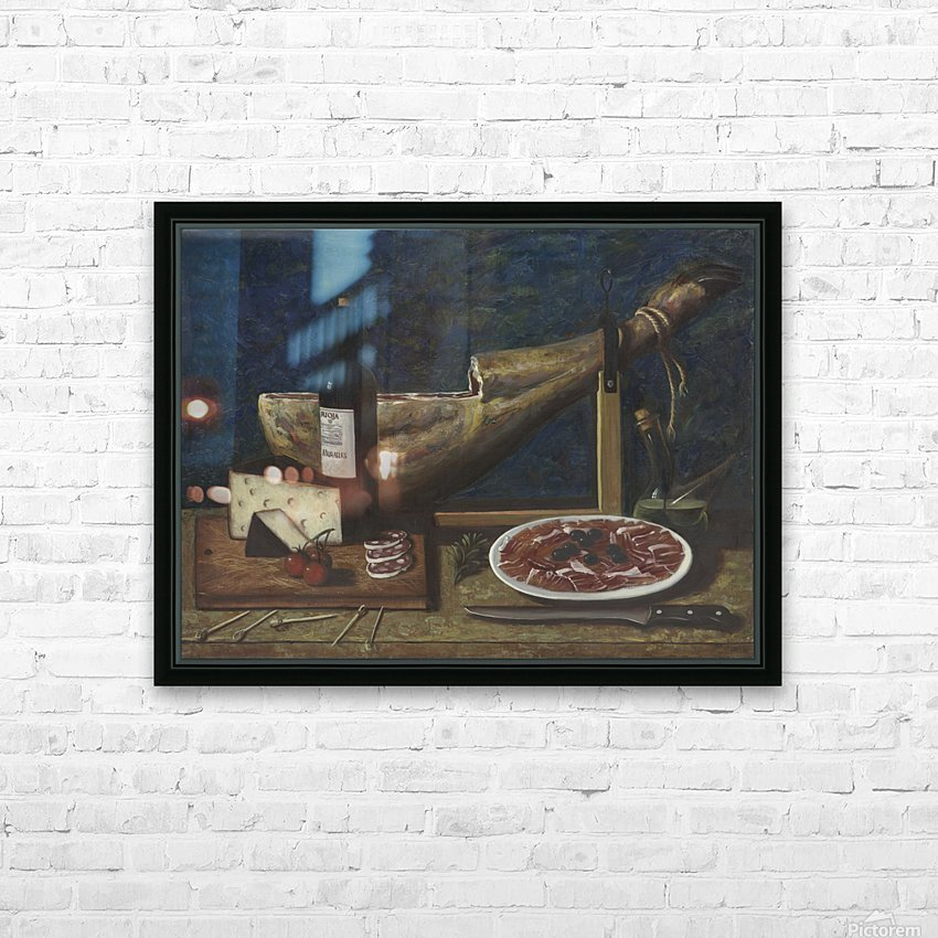 Jamon HD Sublimation Metal print with Decorating Float Frame (BOX)
