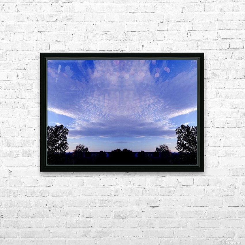 nube 44 HD Sublimation Metal print with Decorating Float Frame (BOX)