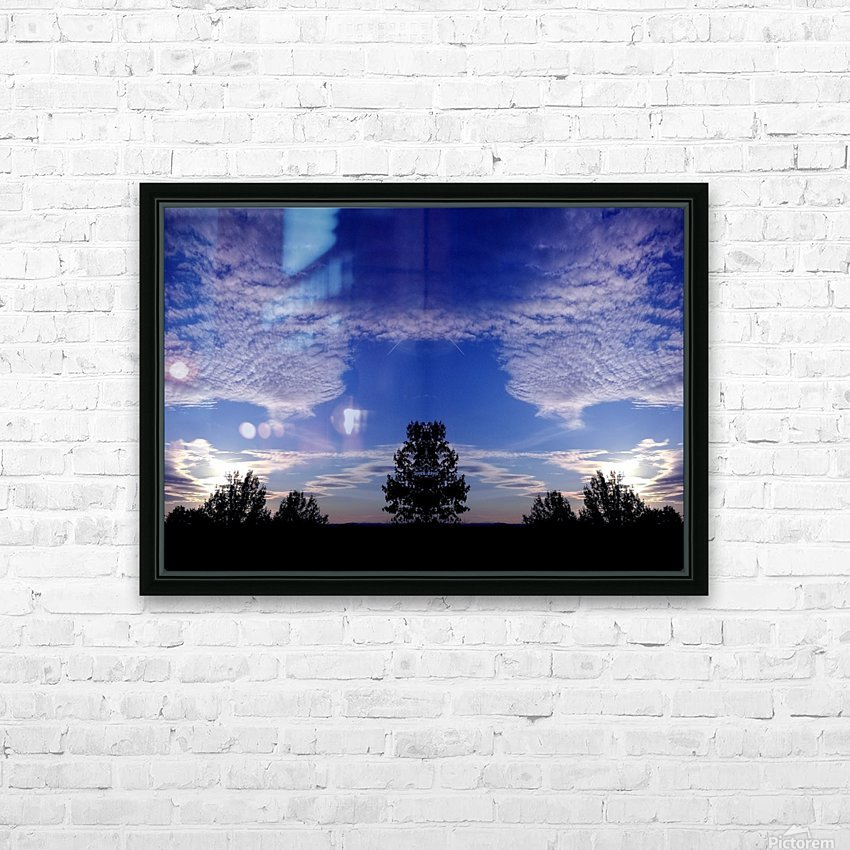 nube 45 HD Sublimation Metal print with Decorating Float Frame (BOX)