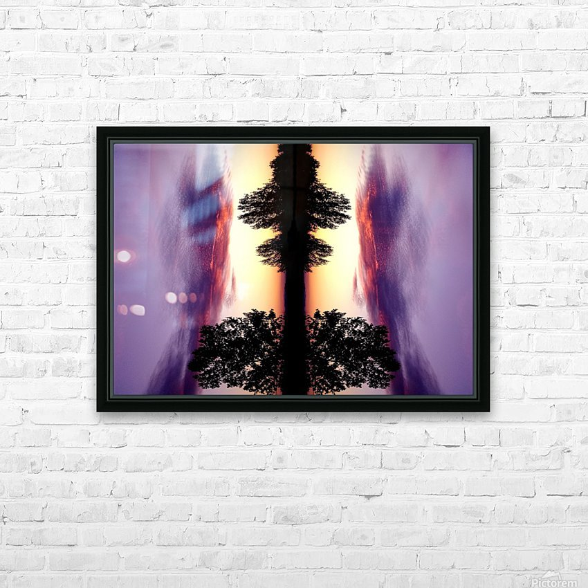 nube 47 HD Sublimation Metal print with Decorating Float Frame (BOX)